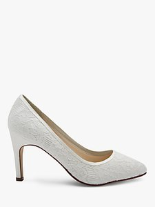 Read more about Rainbow club alexis pointed toe court shoes ivory
