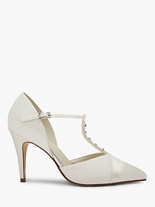 Read more about Rainbow club astrid t-bar court shoes ivory