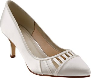 Read more about Rainbow club danni cut out court shoes ivory