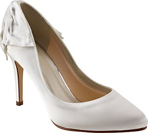 Read more about Rainbow club lillie bow stiletto heeled court shoes ivory