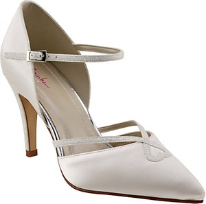 Read more about Rainbow club fleur pointed toe court shoes ivory