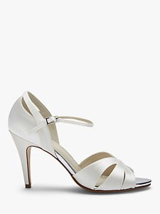 Read more about Rainbow club sue peep toe sandals ivory