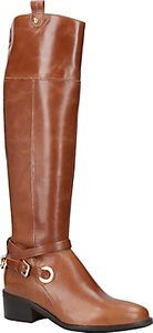 Read more about Carvela wrap knee high boots tan leather