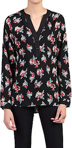 Read more about Jolie moi floral print blouse black