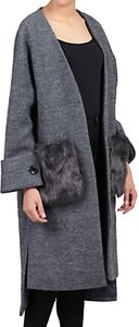 Read more about Jolie moi faux fur pocket padded inner coat