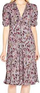 Read more about Ghost sabrina dress lavender floral