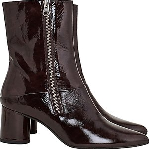 Read more about Finery stephanie block heeled ankle boots mahogany leather