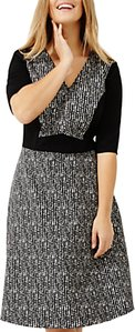 Read more about Studio 8 albany jacquard dress black multi