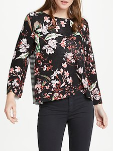 Read more about Oui floral jumper multi