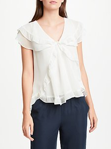 Read more about Max studio frill detail blouse white