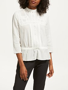 Read more about Maison scotch victoriana blouse off white