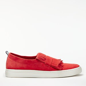 Read more about Boden rayna fringed slip on trainers