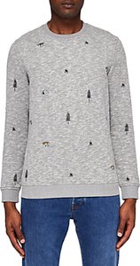 Read more about Ted baker bearin embroidered sweatshirt grey marl