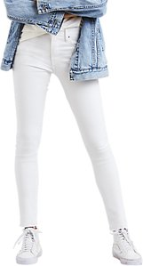 Read more about Levi s 721 high rise skinny jeans soft vintage white