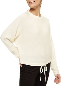 Read more about Jaeger tie back slouch jumper ivory
