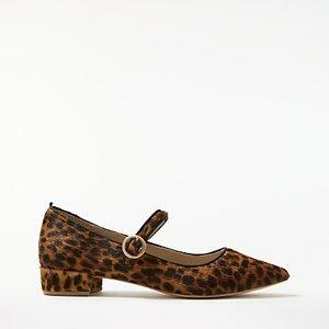 Read more about Boden rosabel court shoes leopard