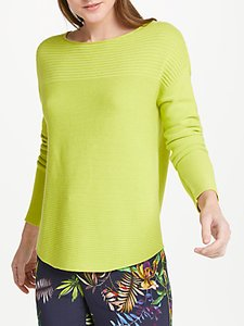 Read more about Oui ribbed jumper lime