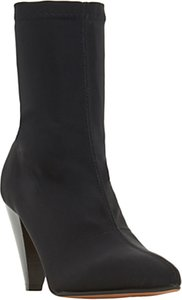 Read more about Dune ralley cone heel sock boots black