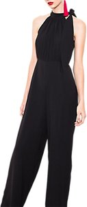 Read more about Wild pony sleeveless crepe jumpsuit black