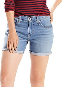 Read more about Levi s mini denim shorts north side