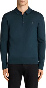 Read more about Allsaints mode merino slim knitted polo shirt