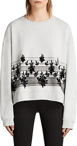 Read more about Allsaints baroco sweater light grey marl