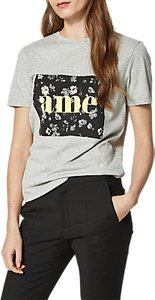 Read more about Selected femme marny t-shirt grey marl