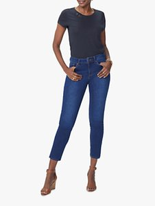 Read more about Nydj alina skinny ankle jeans cooper blue