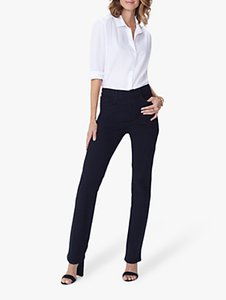 Read more about Nydj marilyn straight leg jeans black