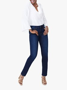 Read more about Nydj sheri slim regular jeans cooper blue