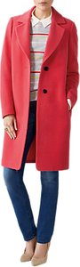 Read more about Pure collection wool single breasted coat coral