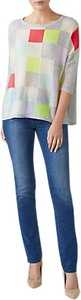 Read more about Pure collection gassato cashmere check jumper multi