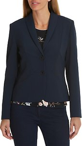 Read more about Betty barclay tailored blazer dark sky
