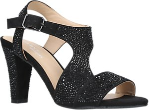 Read more about Carvela comfort simona block heeled sandals black