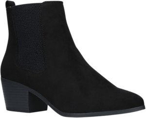 Read more about Miss kg tina block heeled ankle chelsea boots black