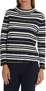 Read more about Betty barclay striped knit top dark blue cream
