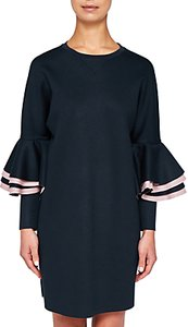 d15ed5caf00d Read more about Ted baker ted says relax chloae frill sleeve sweater dress  navy