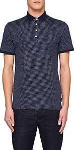 Read more about Ted baker boxer geometric print polo shirt