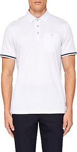 Read more about Ted baker puggle cuff stripe polo shirt