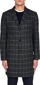 Read more about Ted baker ando check overcoat charcoal