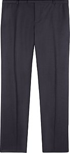 Read more about Jaeger wool flannel regular fit trousers charcoal