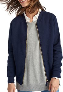 Read more about Joules millie quilted bomber jacket navy