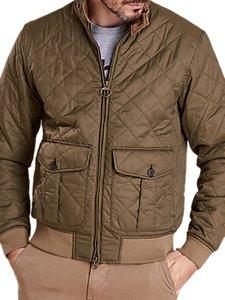Read more about Barbour land rover defender dere quilt harrington jacket olive