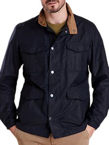 Read more about Barbour land rover defender novantae jacket navy