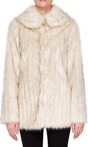 Read more about Ted baker olleen winter faux fur coat ivory