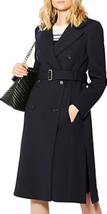 Read more about Karen millen longline trench coat navy