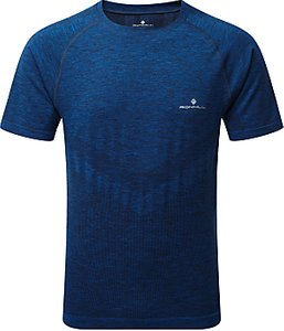 Read more about Ronhill infinity marathon short sleeve top electric blue marl