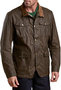 Read more about Barbour ogston waxed jacket dark sand