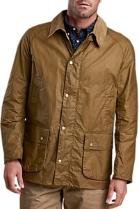 Read more about Barbour lifestyle waxed cotton field jacket sand