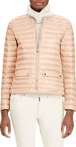 Read more about Polo ralph lauren lightweight down jacket pale pink